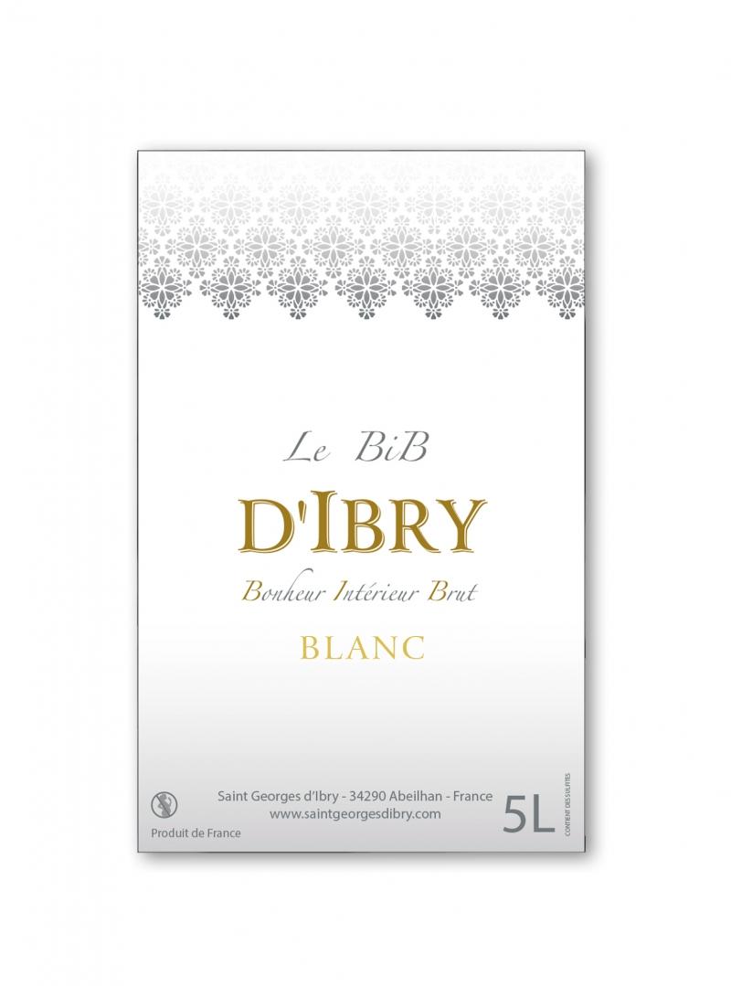 Bib d'Ibry Blanc 5L. Crédits : ©saintgeorgesdibry.com 2020