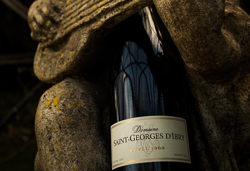 Les vins du domaine Saint-Georges d'Ibry. Crédits : ©saintgeorgesdibry.com 2014